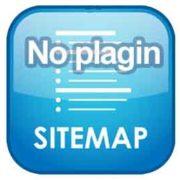 karta sajta bez plagina page