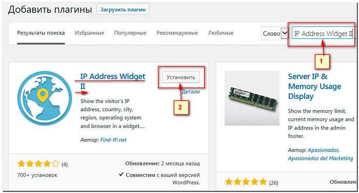 IP-Address-Widget-установка-на-сайт